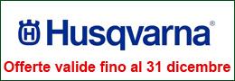Promozioni Husqvarna